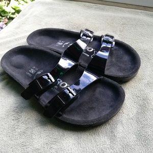 Birkenstock Shoes - ALPRO BY BIRKENSTOCK 8 black sandals
